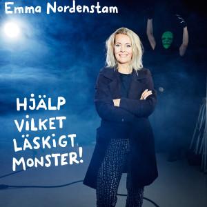 Brusd 0311 Emma Nordenstam_Hjälp, vilket läskigt monster! cover